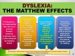 dyslexia the matthew effects