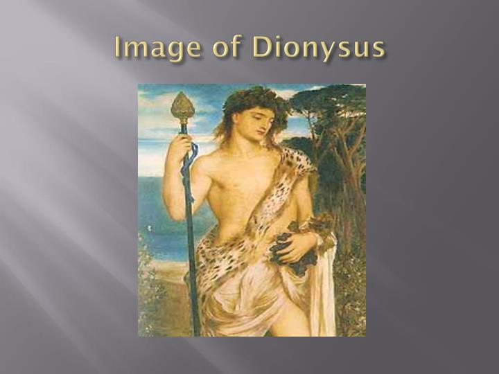 Image of Dionysus