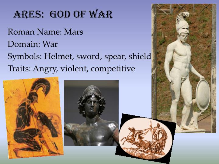 PPT - The Olympian Gods & Goddesses PowerPoint ...