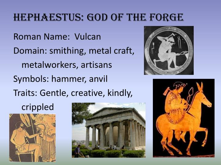Hephaestus: God of the Forge