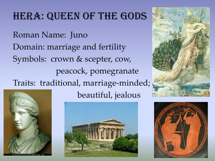 Hera: queen of the gods