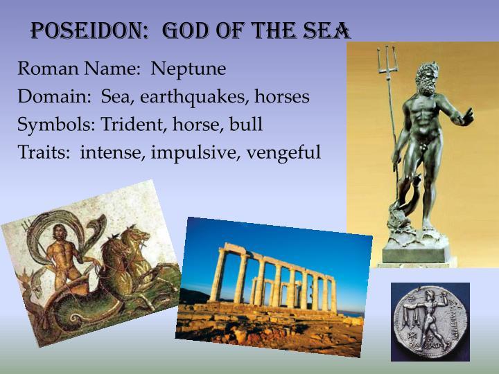Poseidon:  God of the Sea