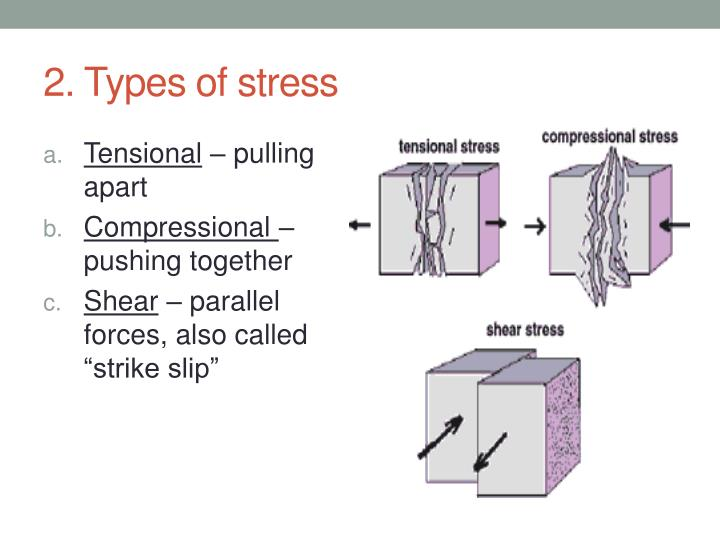 2 types of stress
