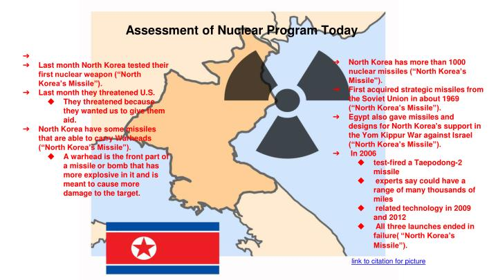 Assessment of Nuclear Program Today