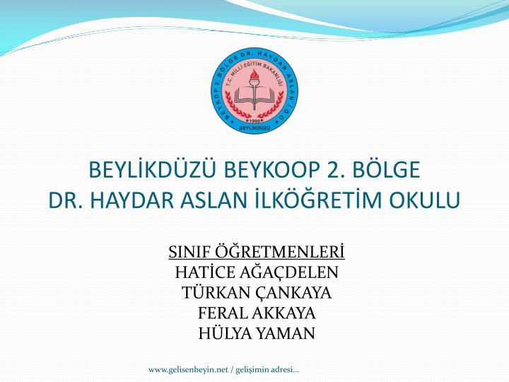 BEYLİKDÜZÜ BEYKOOP 2. BÖLGE