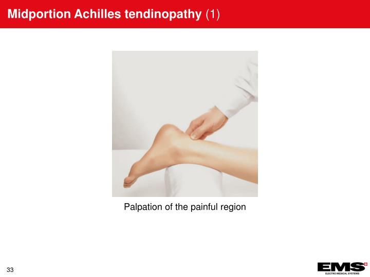 Midportion Achilles tendinopathy