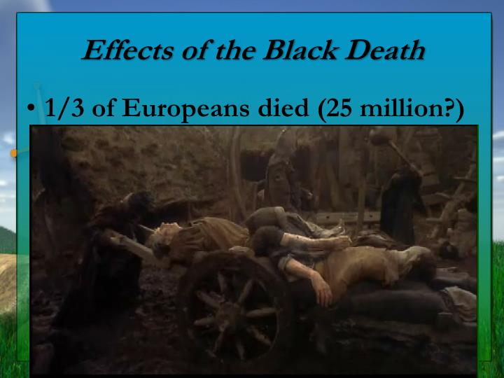 the effects of the plague on During the black death, doctors believed, among other things, that poisonous vapors caused the plague they used aromatic herbs to purify the airbefore the pestilence, humans did have a long history of using perfume, but with the black death, use of personal fumigants truly became the rage.