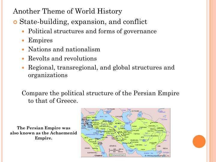 Another Theme of World History