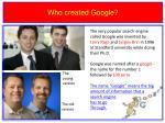who created google