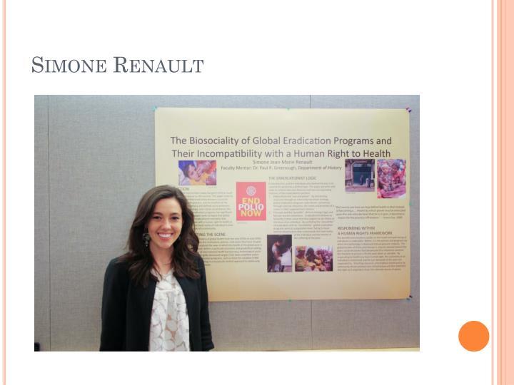 Simone Renault