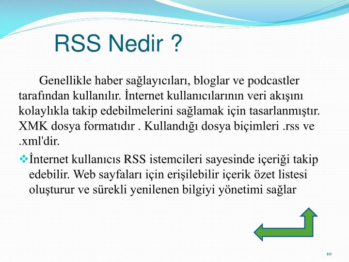 RSS Nedir ?