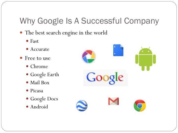 Why google is a successful company