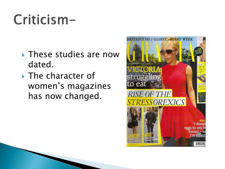 Criticism-