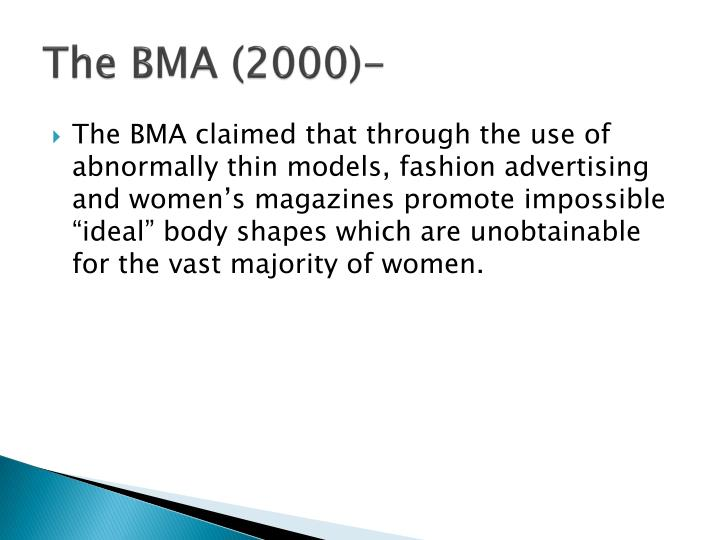 The BMA (2000)-