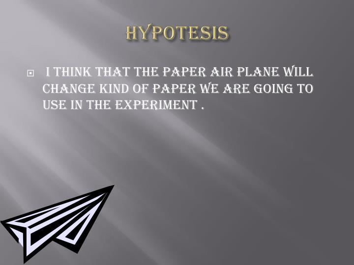 HYPOTESIS
