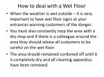 how to deal with a wet floor3