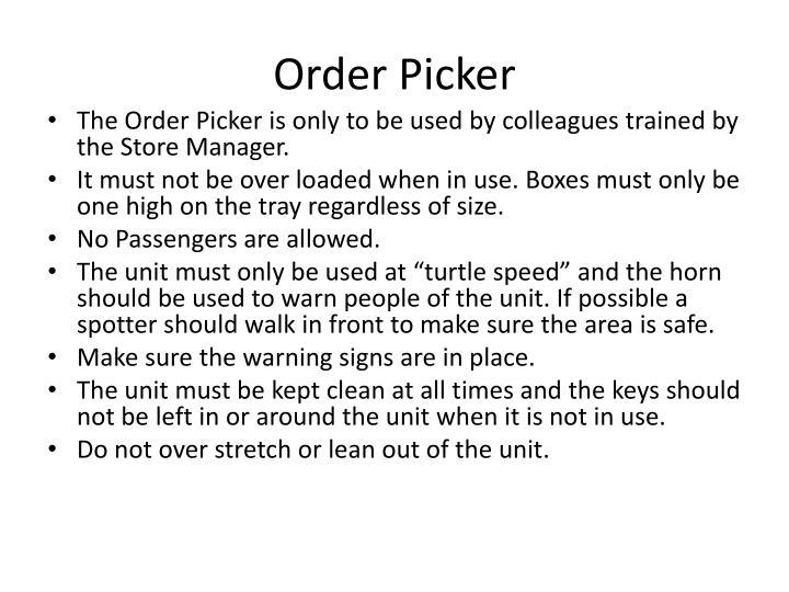 Order Picker