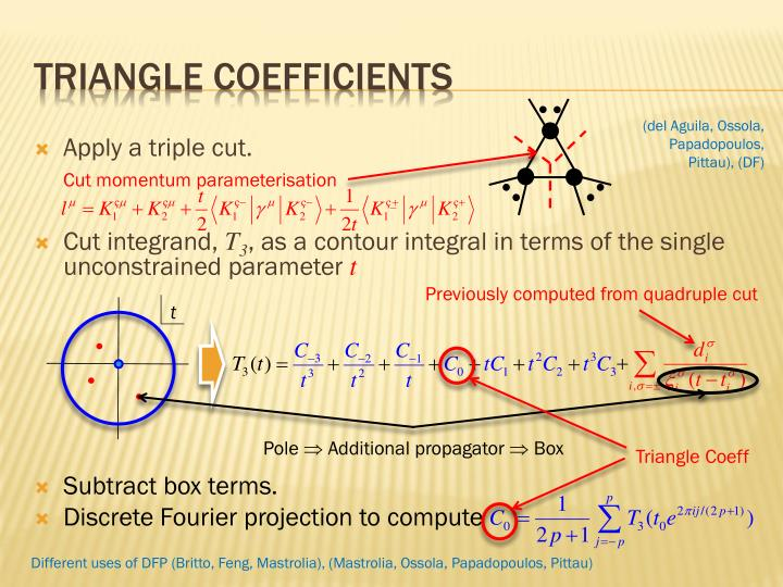 Triangle coefficients