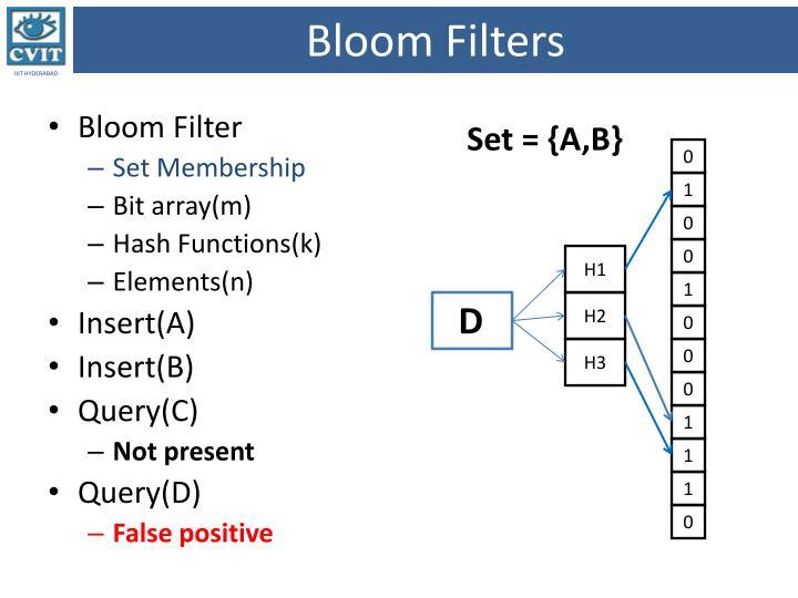 Bloom Filters