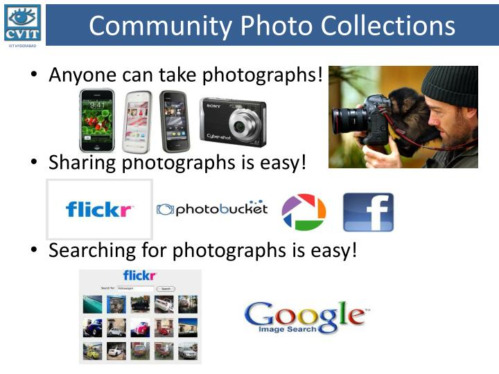 Community photo collections
