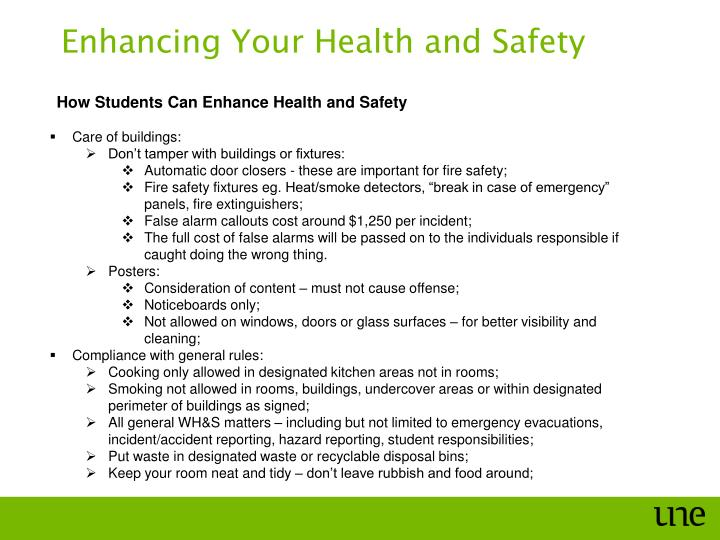 Enhancing Your Health and Safety