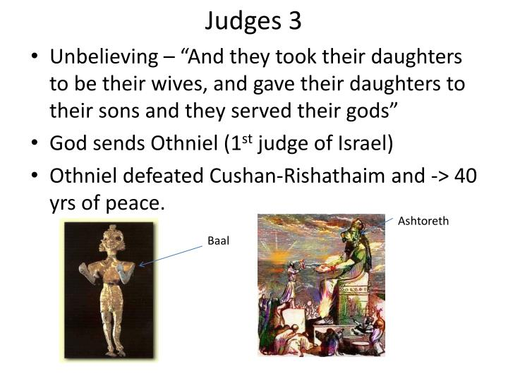 Judges 3