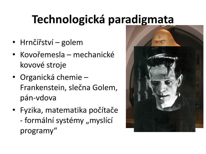 Technologická paradigmata