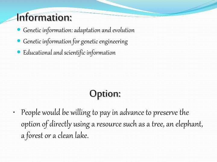 Information: