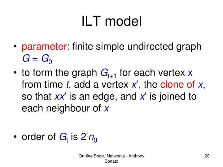 ILT model