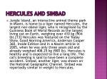 hercules and sinbad