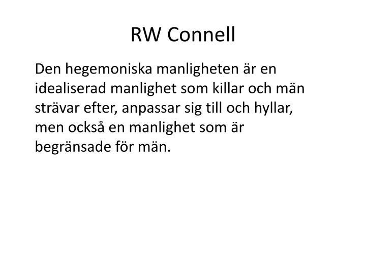 RW Connell