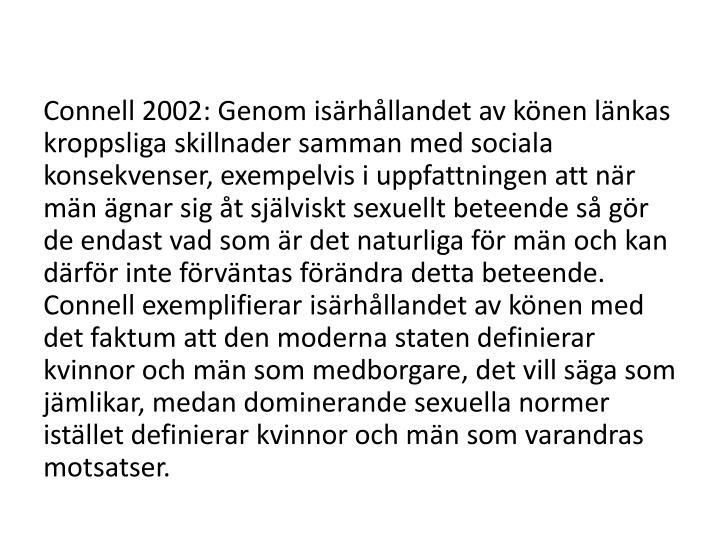 Connell 2002: Genom