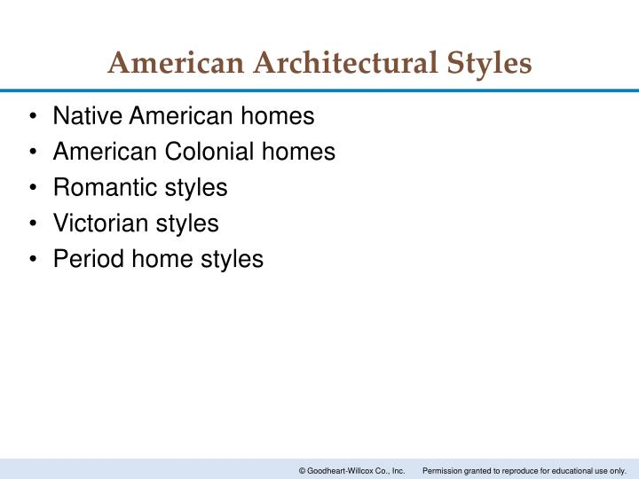 Ppt architectural styles powerpoint presentation id for American building styles