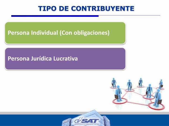 TIPO DE