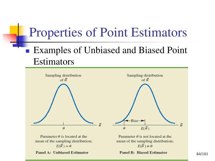 Properties of Point Estimators