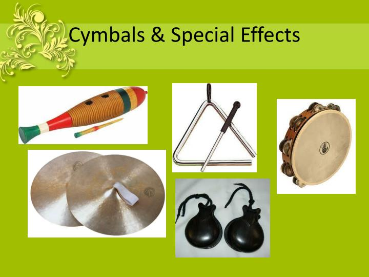 Cymbals & Special Effects