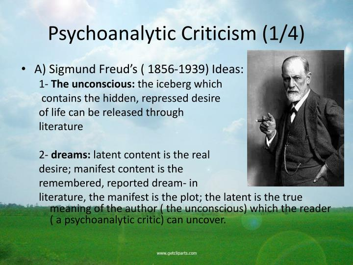Psychoanalytic Criticism (1/4)