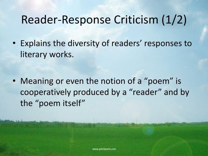 Reader-Response Criticism (1/2)
