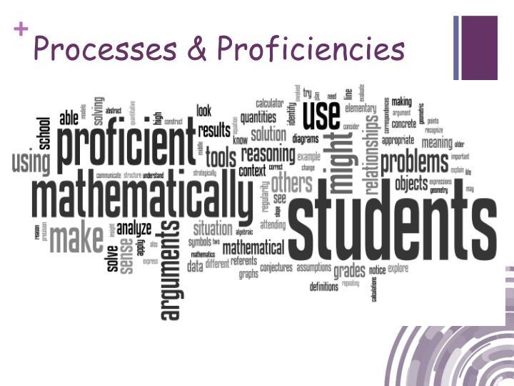 Processes & Proficiencies