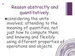 reason abstractly and quantitatively4