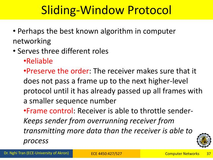 Sliding-Window Protocol