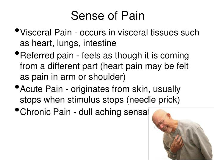 Sense of Pain