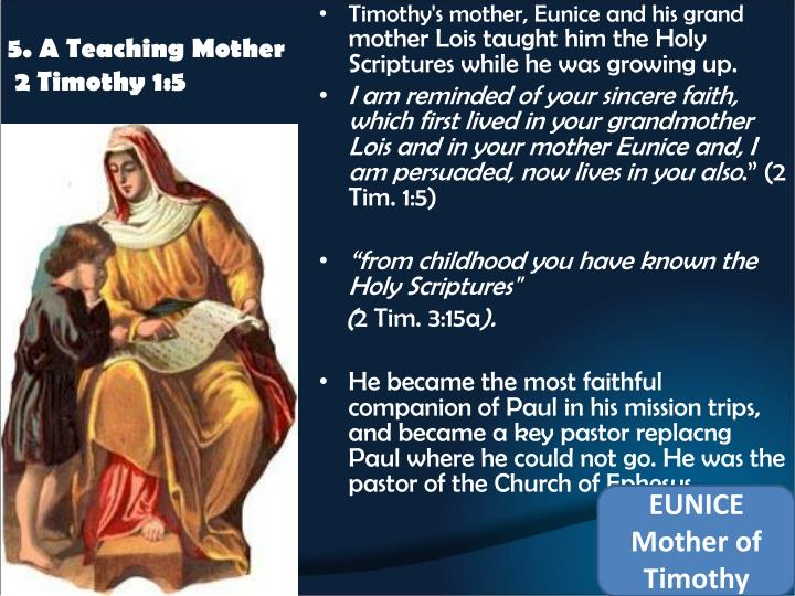5. A Teaching Mother