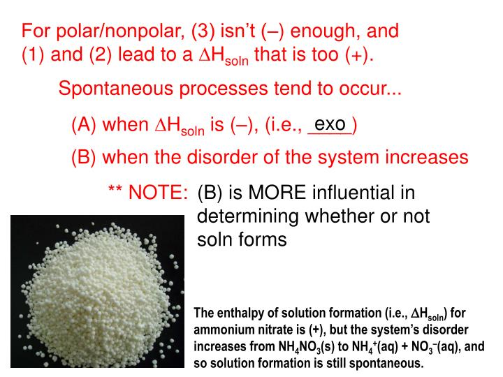 The enthalpy of solution formation (i.e.,