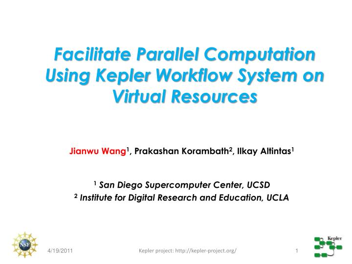Facilitate Parallel Computation Using