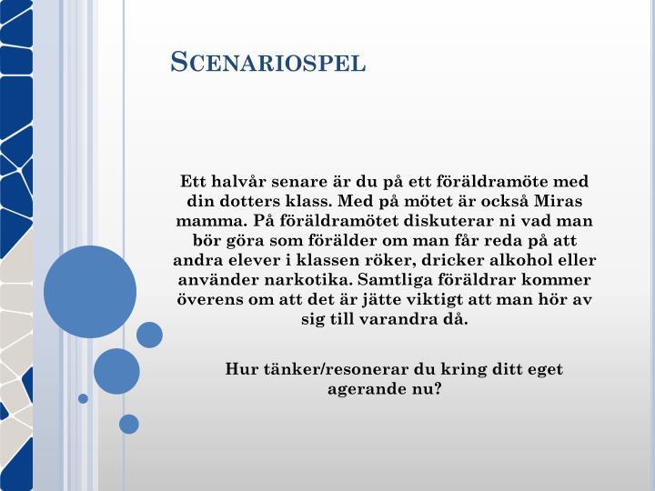 Scenariospel