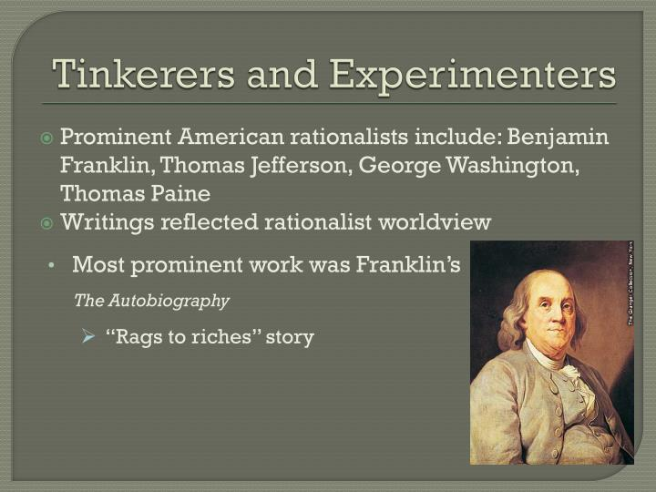 Tinkerers and Experimenters