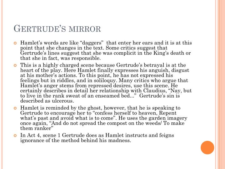 Gertrude's mirror