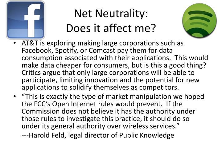 Net Neutrality:
