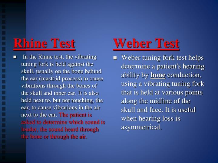 Rhine Test